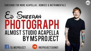 download lagu Ed Sheeran - Photograph  Acapella - Vocals Only gratis