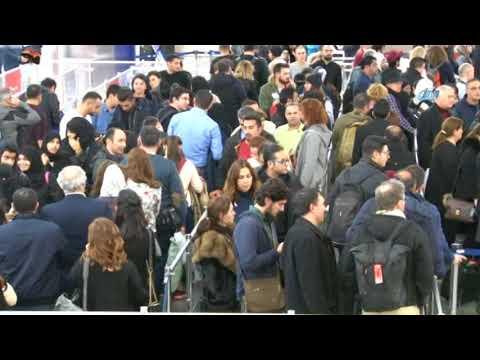 Atatürk Havalimanı'nda Tatilci Yoğunluğu Sürüyor