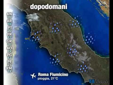 Meteo Italia a 3 giorni del 10/10/2012