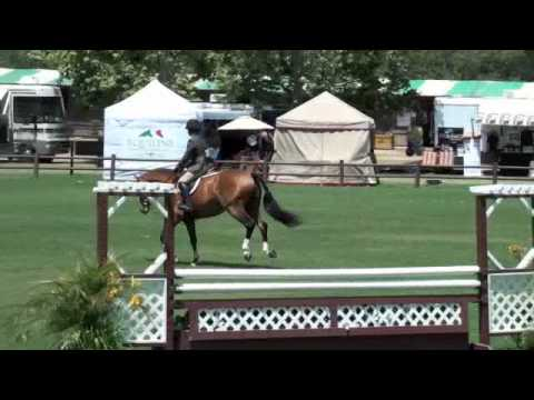 Cassandra Kahle & Porsha K # 2- Small Junior Hunters Video