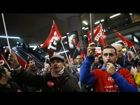 Europe-wide strikes against cutbacks