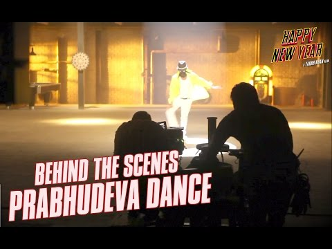 Happy New Year: Behind The Scenes Prabhudeva Dance | Shah Rukh Khan | Abhishek Bachchan video