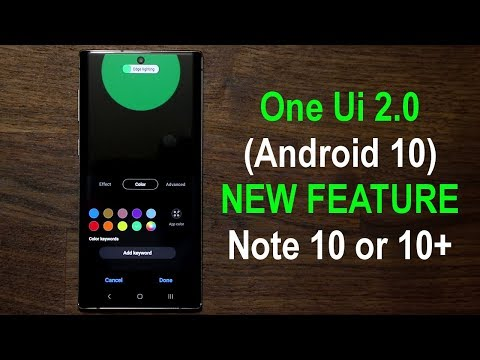 Galaxy Note 10 Plus - New Incredible One Ui 2.0 Update (Android 10)