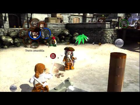 LEGO Piratas del Caribe [Demo Gameplay] Español