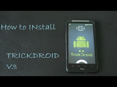 How to install TrickDroid - ICS for HTC Desire HD and Inspire 4G