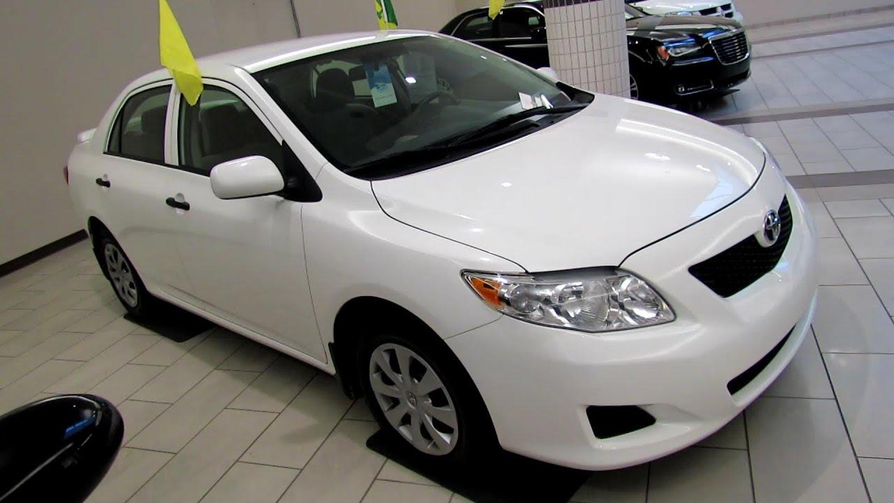 2010 Toyota Corolla Ce Exterior And Interior Walkaround