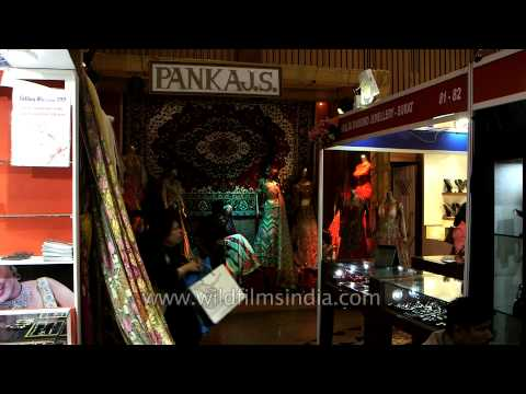 Home decors, jewellery sets, bridal dresses at Wedding Asia exhibition in Delhi