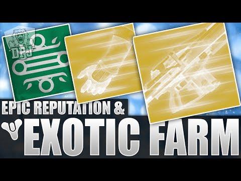 Destiny: Amazing & EASY Exotic & Reputation Farm Method! (House Of Judgement Rep)