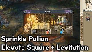 [TOS Re] Sprinkle Potion / Elevate Magic Square + Levitation