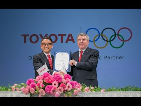 Toyota Enters Olympics TOP Sponsorship Agreement with IOC