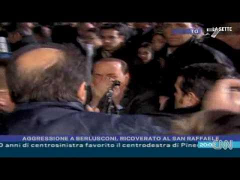 Agesion a Silvio Berlusconi – Grabación de frente