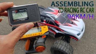 Assembling - RC car ZD Racing 1/10 96KM/H - Super Speed