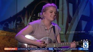 """""""American Idol"""" Winner Maddie Poppe Performs LIVE on KTLA"""