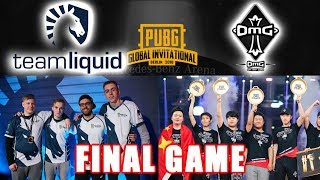 PUBG - Team Liquid Wins Final Game - PUBG Global Invitational Tournament Winner Team OMG!