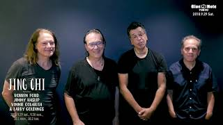 JING CHI (Robben Ford, Jimmy Haslip, Vinnie Colaiuta, Larry Goldings) - 2018.09.29 Blue Note Tokyo でのライブダイジェスト&コメント映像を公開 thm Music info Clip