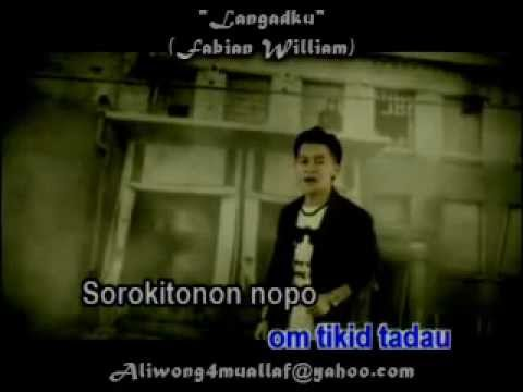 Fabian William - Langadku (lagu Dusun With Hq Audio & Lirik) video