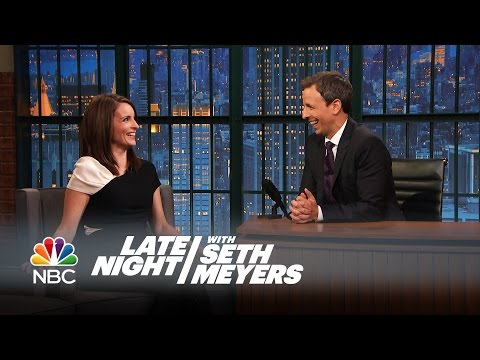 Tina Fey Planned an Epic Surprise Party for Her Daughter - Late Night with Seth Meyers