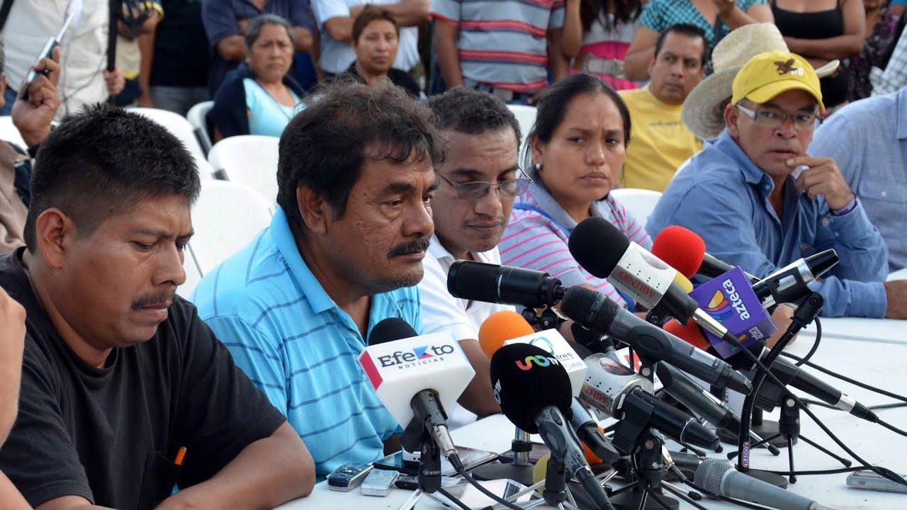 Familiares de los estudiantes mexicanos desaparecidos no se dan por vencidos