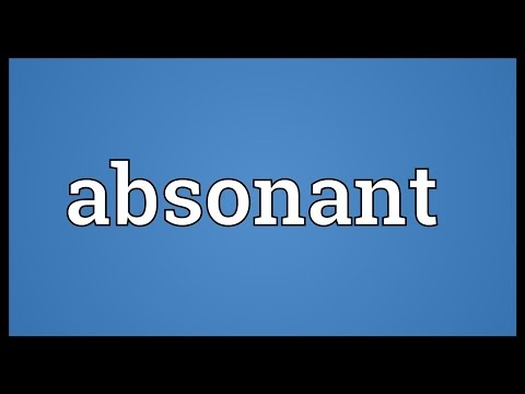 Header of absonant