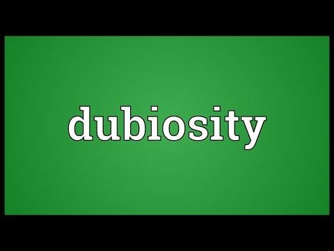 Header of dubiosity