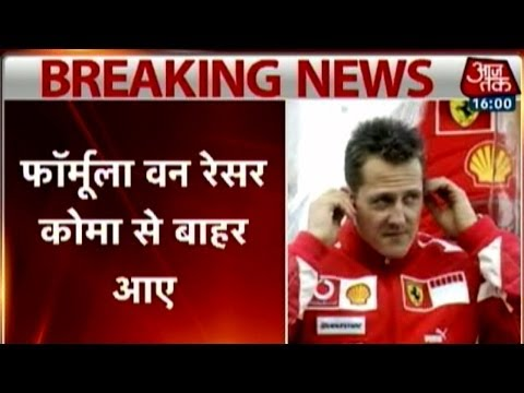 Michael Schumacher out of coma, leaves French hospital