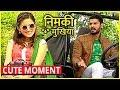 Nimki And Babbu CUTE MOMENT In Nimki Mukhiya | Star Bharat New Show