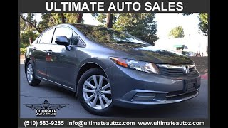 2012 Honda Civic Sdn 4dr Auto EX (Hayward, California)