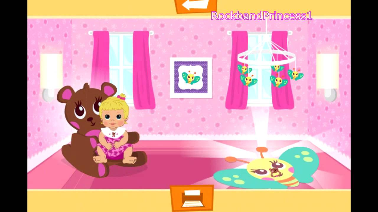 Baby games baby room decoration game free girls games for Baby decoration games