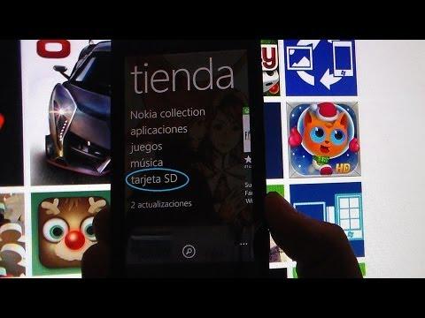 Como Instalar aplicaciones  XAP de forma manual desde la tarjeta SD en Windows Phone 8