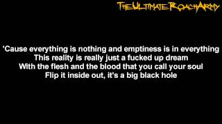 Papa Roach - Between Angels And Insects Lyrics on screen HD