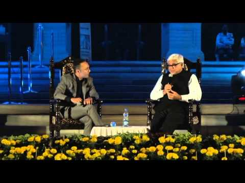 Amitav Ghosh & Rahul Bose at Tata Steel Kolkata Literary Meet 2015 -- Part 2