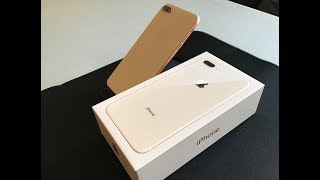 iPhone 8 Plus Gold: Unboxing and First Look