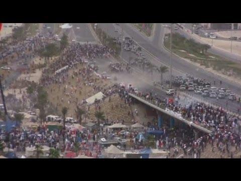 image vidéo Bahreïn : des manifestants bravent l'interdiction de manifester