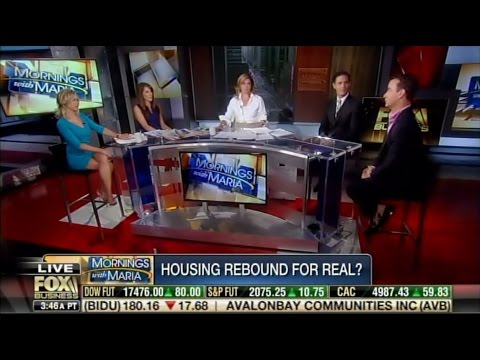 Jeff Taylor with host Maria Bartiromo Is the housing market stabilizing?