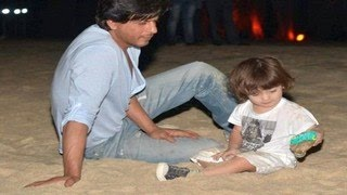 Shahrukh Khan & Abrams GOA HOLIDAY PHOTOS LEAKED