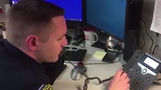 Cop calls back scammer and the conversation goes viral