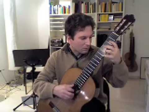 Oliver Eidam spielt 2.Air Varie von Giulio Regondi Teil1