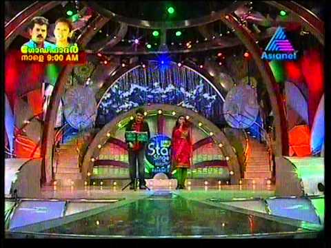 anoop shankar singing manikya kallal in idea star singer season5...