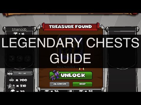 Dungeon Rampage - Legendary Keys Guide