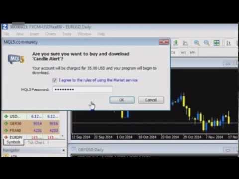 Mira el proceso de compra de un indicador o expert en MetaTrader