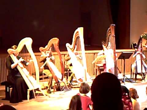 Pachelbel's Canon in C - harp Music Videos