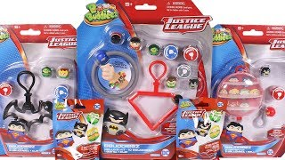 BBuddieez Justice League Deluxe Kit, Starter Kit and Blind Bag Unboxing Toy Review