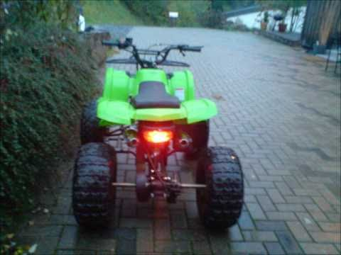 mini atv quad 125cc youtube. Black Bedroom Furniture Sets. Home Design Ideas
