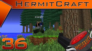 HermitCraft ~ ModSauce ~ Ep 36 ~ Stuff.. Things.. War! With sl1pg8r!