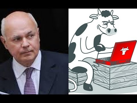 Discussing social media with Iain Duncan Smith and Helen Dewdney The Complaining Cow