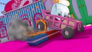 SHOPKINS SHOPVILLE CARTOON SPECIAL NEW COMPILATION | Burnt Rubber | Kids Movies | Shopkins Episodes