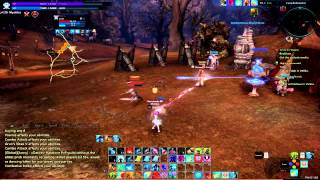 Tera online - Mystic vs Warrior