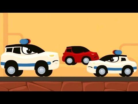 Мультфильмы для детей Полицейская погоня Все серии Мультики про машинки