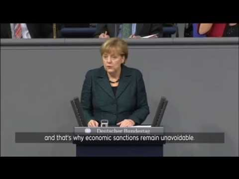 Merkel Lashes Putin Over Ukraine: 'Nothing justifies annexation of Crimea by Russia'