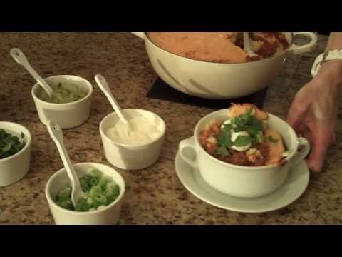 Chili with Cornbread Topping - Lynn's Recipes